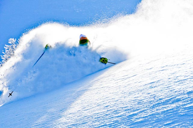 Pure ski company heliskiing italy val susa